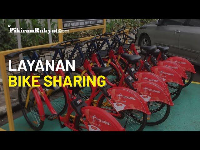 Pemprov DKI Jakarta Sediakan Layanan Bike Sharing, yang Ada di 9 titik sementara Parkir Sepeda Gowes