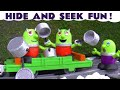 Funny Funlings Hide and Seek Game Prank with Thomas the Tank Engine and Super Funling