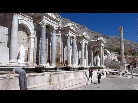 Antalya Central.com Sagalassos Trip, Sep 2012, a storm brewing :)