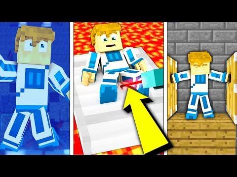 10 SPOSOBÓW NA TORTURY DOKNESA!!! - Minecraft Doświadczenie #4