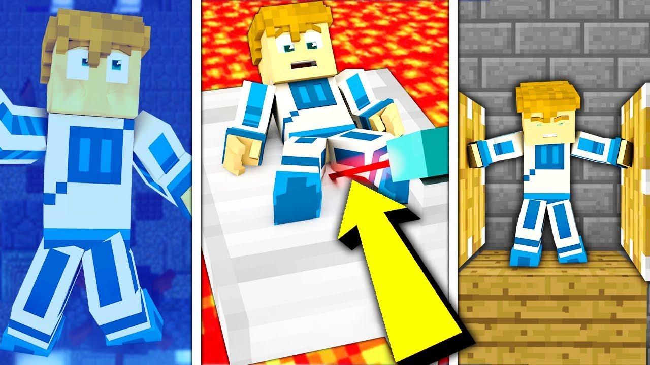 10 SPOSOBÓW NA TORTURY DOKNESA!!! – Minecraft Doświadczenie #4