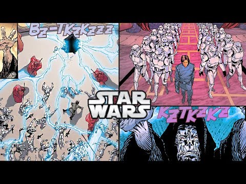 How Palpatine KILLED 50 STORMTROOPERS with UNLIMITED POWER - Star Wars Comics Explained