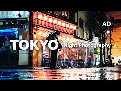 TOKYO NIGHT PHOTOGRAPHY in the rain — A different side…
