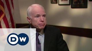 Джон Маккейн  Говорить с Путиным языком силы    американский сенатор в  Немцова Интервью