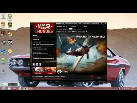 Download and install War Thunder