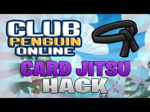 Reveal Card Jitsu Deck Hack - Club Penguin Online Exploiting (See Opponent CJ Cards Cheat)