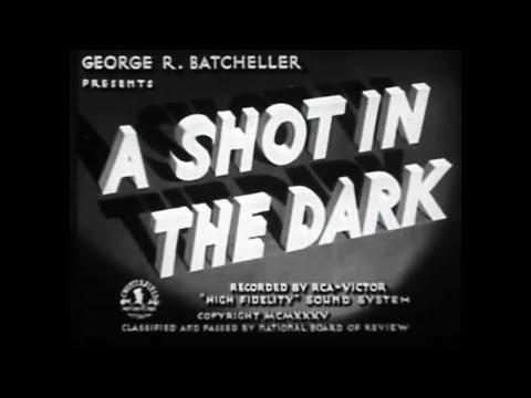 Mystery Thriller Movie - A Shot In The Dark (1935)