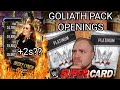 GOLIATH PLATINUM PACK OPENINGS, BECKY LYNCH ROAD TO GLORY / RTG + MORE! Noology WWE SuperCard S4!