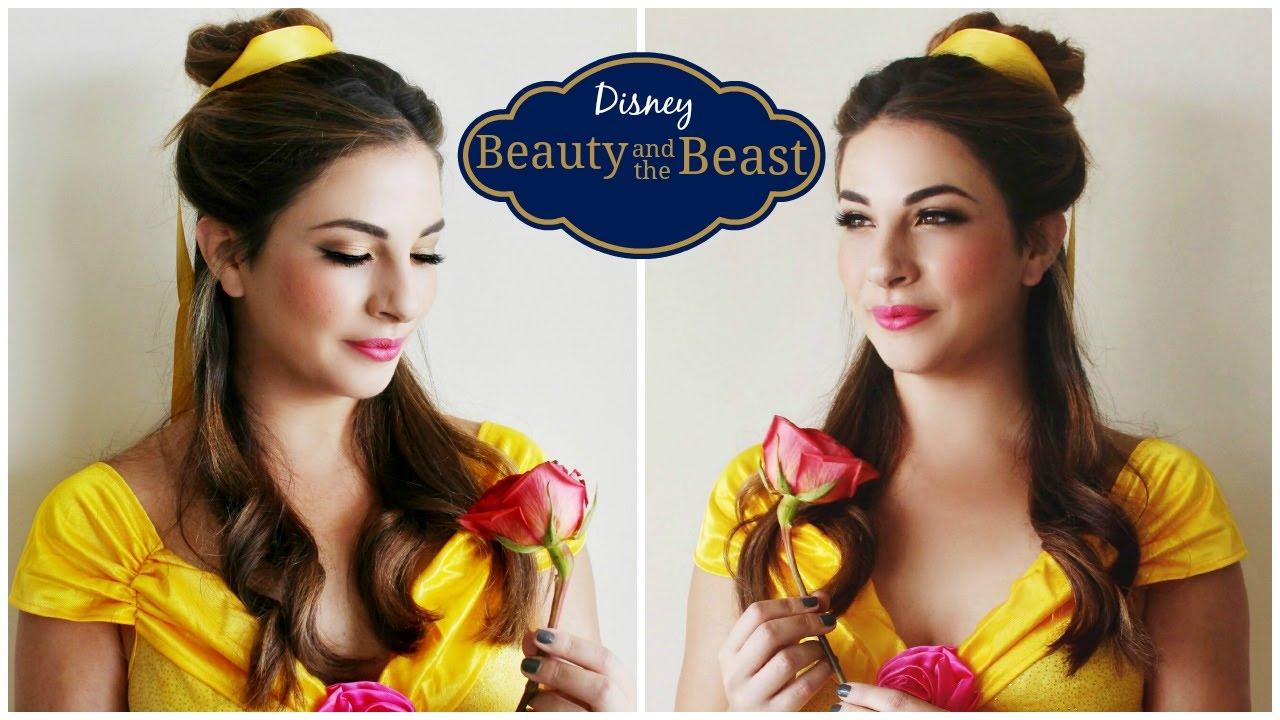 belle makeup tutorial halloween youtube