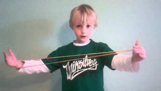 Cat's Cradle Game - Tyler Makes String Bananas