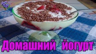 Рецепт йогурта в домашних условиях из закваски без йогуртницы