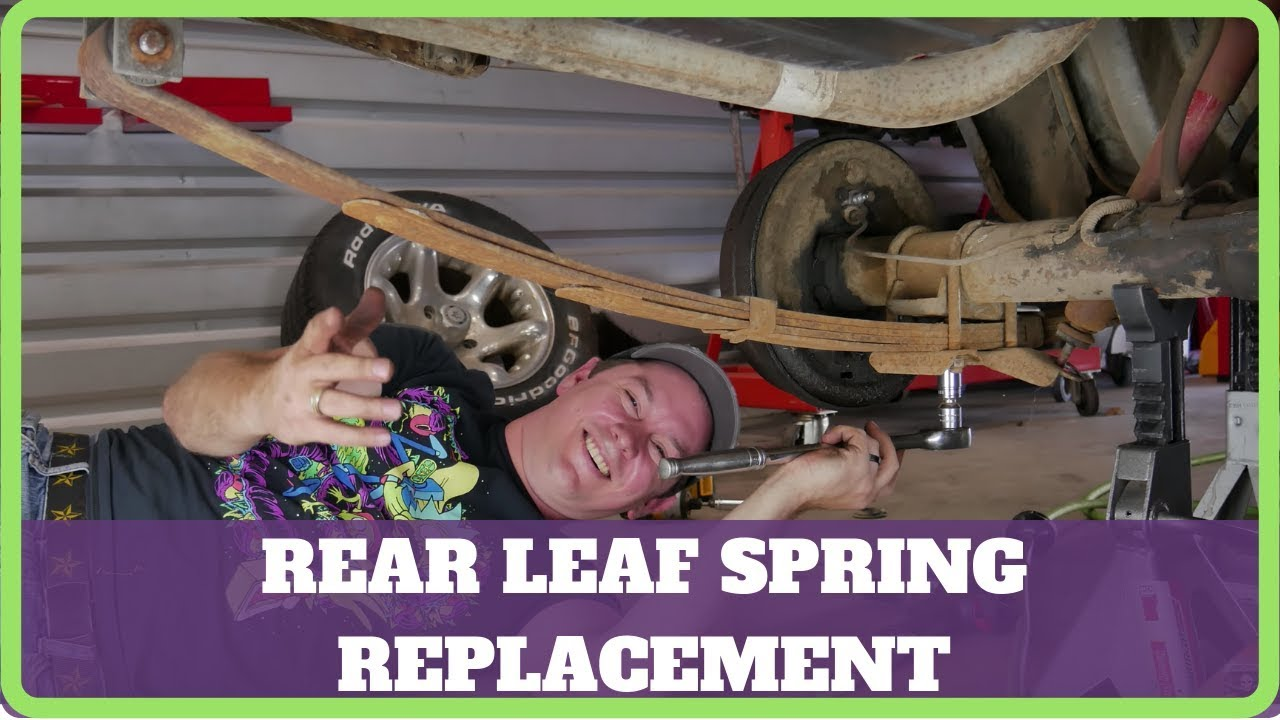 How to install mustang leaf springs