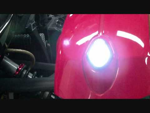 Can Am Roadster >> Can Am Spyder Roadster - LED Fender Tip Lights - YouTube