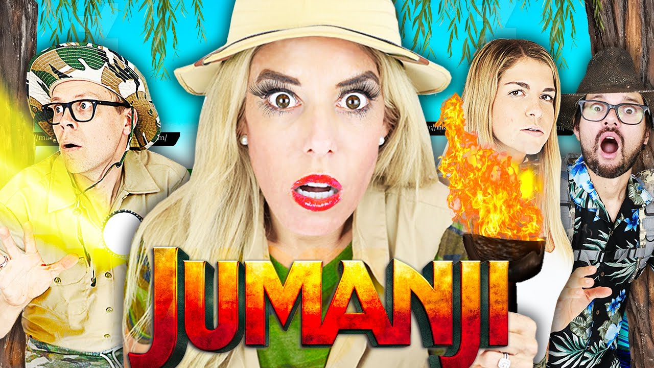 Giant Jumanji Game in Real Life to Win Realm Royale for Game Master! | Rebecca Zamolo