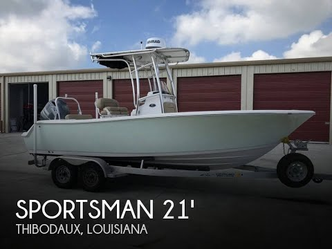 Used 2015 Sportsman 212 Open Center Console 21 for sale in Thibodaux, Louisiana