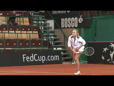 FedCup. WORLD CROUP II 2013 - PLAY-OFF. Ukraine vs Canada. Full