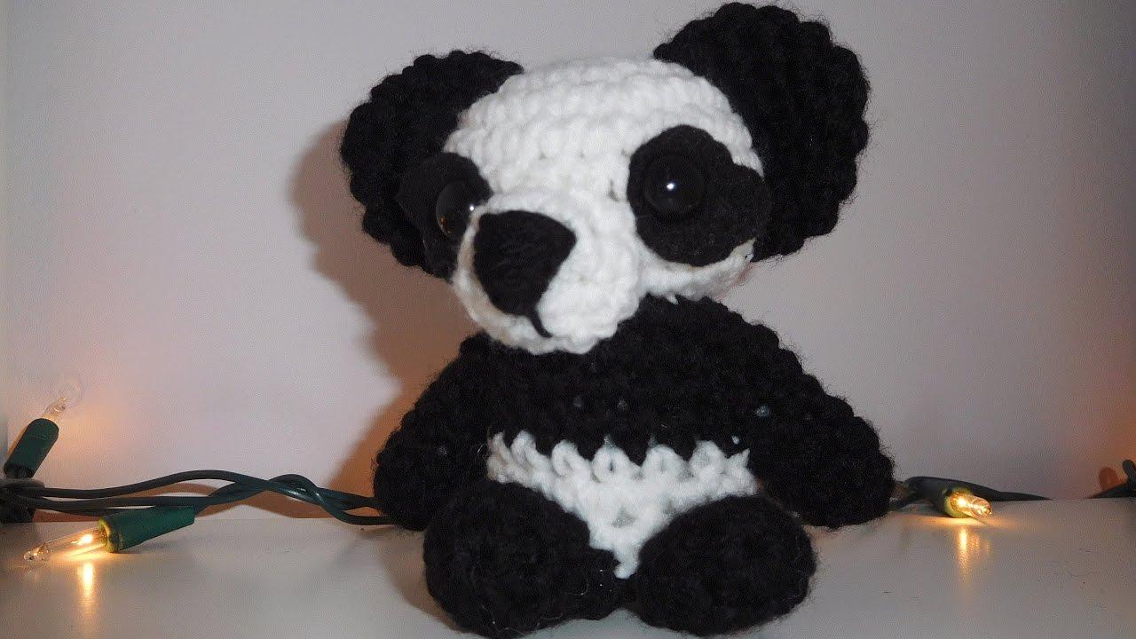 Panda Amigurumi Crochet Tutorial Part 2 - YouTube   720x1280