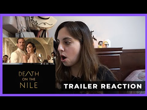 DEATH ON THE NILE TRAILER REACTION!