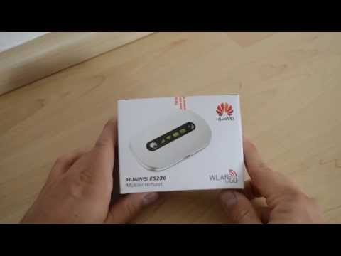 test huawei e5220 mobiler wlan mifi router funnycat tv. Black Bedroom Furniture Sets. Home Design Ideas