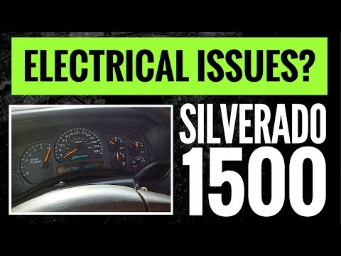 2003-2006 Silverado 1500 Electrical Problems! | Instrument Cluster Not Working! | (94K Miles)