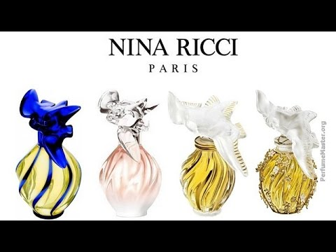 nina ricci l 39 air du temps maison desrues perfume youtube. Black Bedroom Furniture Sets. Home Design Ideas