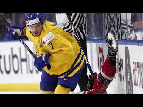 Timothy Liljegren World Juniors Team Sweden 2018 Highlights