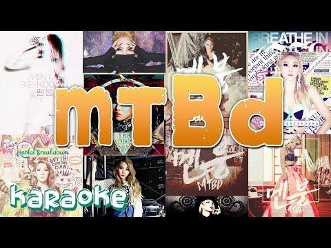2NE1 - MTBD (CL Solo) [karaoke]