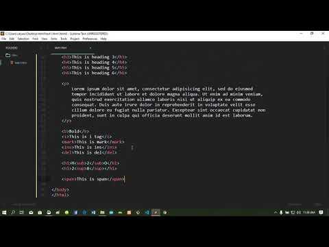 HTML Basic Tutorial ( Myanmar )
