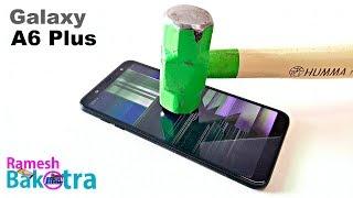 Samsung Galaxy A6 Plus Screen Scratch Test