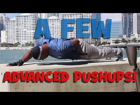 A Few Advanced Pushups! Fitness Motivation!
