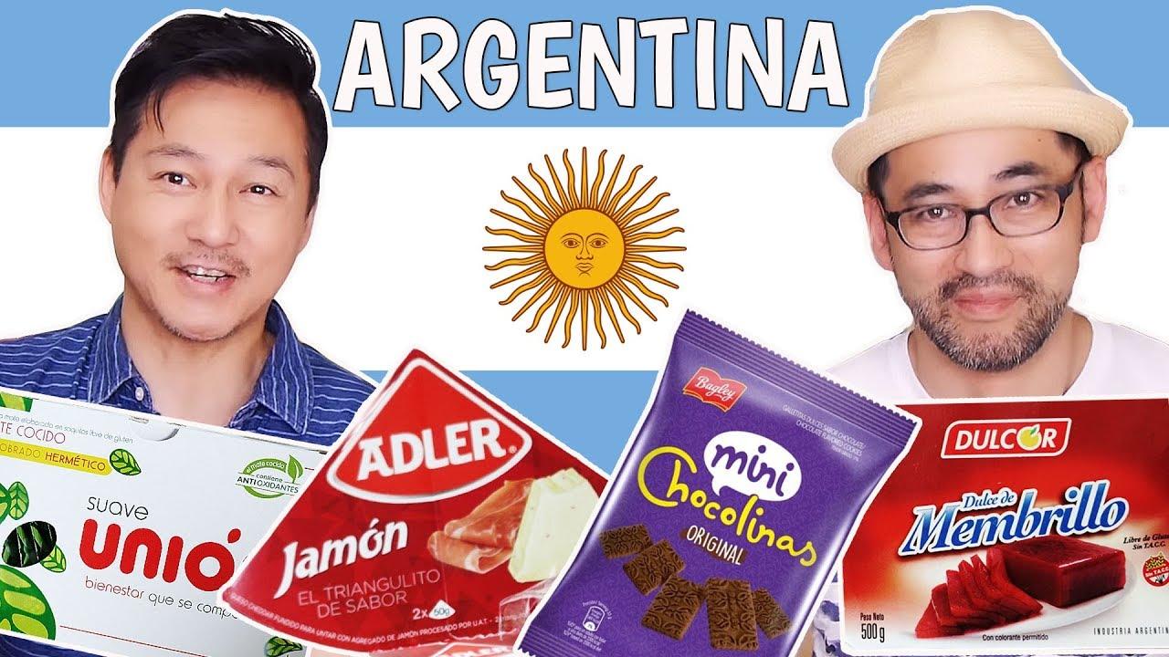 Japanese Try Argentina Snacks