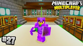 THE MEGA BASE in Minecraft Multiplayer Survival! (Episode 27)
