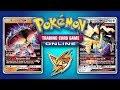 Buzzwole GX / Lycanroc GX vs Dusk Mane Necrozma GX / Magnezone - Pokemon TCG Online Game Play