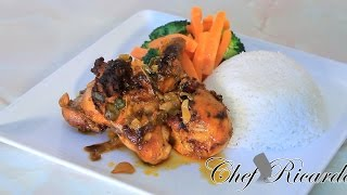 Jerk Chicken  Baked In The Oven One Of The Best From Chef Ricardo Cooking