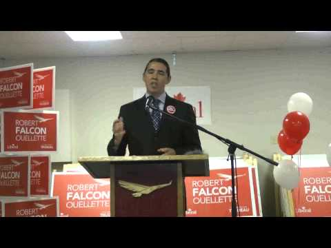 ROBERT FALCON OUELLETTE SPEECH GR OPENING LIB OFFICE 00178