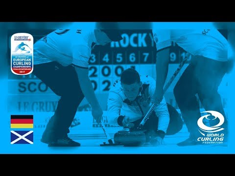 Germany v Scotland - Men's Round-robin - Le Gruyère AOP European Curling Championships 2017