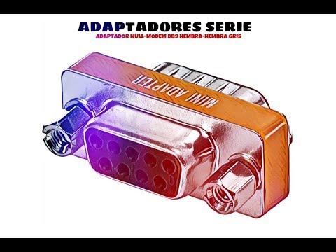 Video de Adaptador Null-Modem DB9 hembra-hembra  Gris