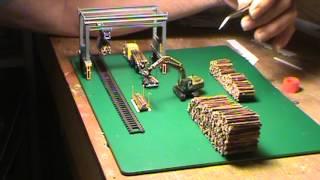 N Scale Wood Yard  Idea  001