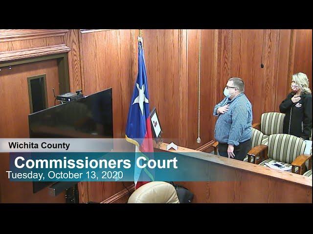 Commissioners Court 10/13/2020 Part 1