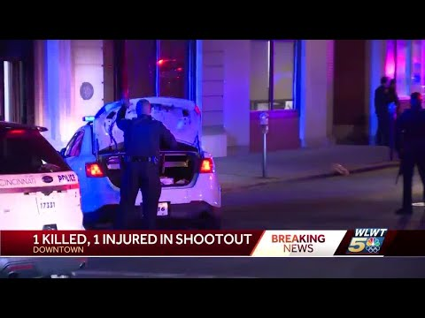1 Dead, 1 Injured In Shooting At Downtown Cincinnati Bar