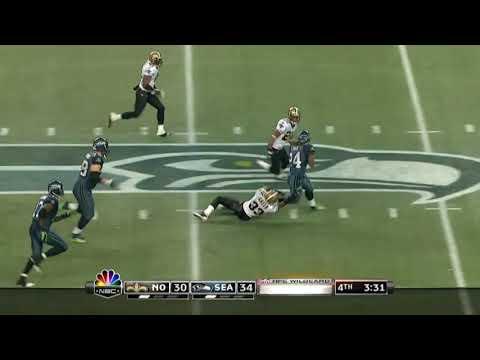 Marshawn Lynch beast mode run vs Saints(2010)|NFL