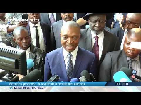 Présidentielle RDC - Le pays se prépare à la veille des élections - Tshisekedi, Shadary, Fayulu