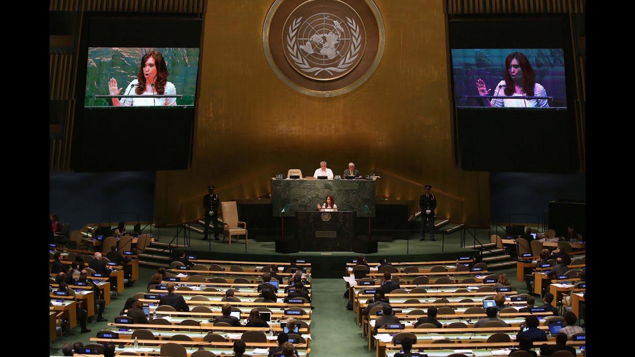 28 de SEP 70 Asamblea General de las Naciones Unidas