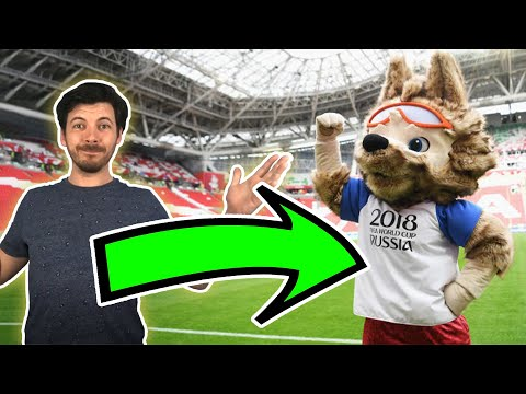 When I Was The 2018 World Cup Mascot!