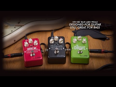 EBS Blue Label Pedals - with bass