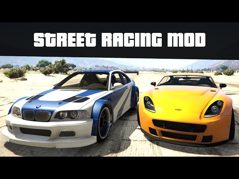 STREET RACING MOD (Race Against Any Car!) | GTA 5 Mods
