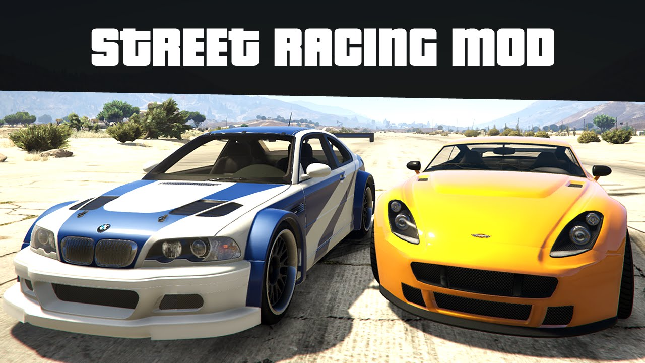 Street Racing Mod Race Against Any Car Gta Mods Youtube