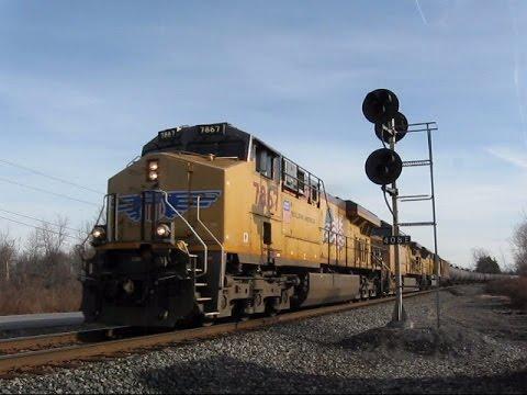 12 Hours of Trains in Buffalo, NY 12/06/2015