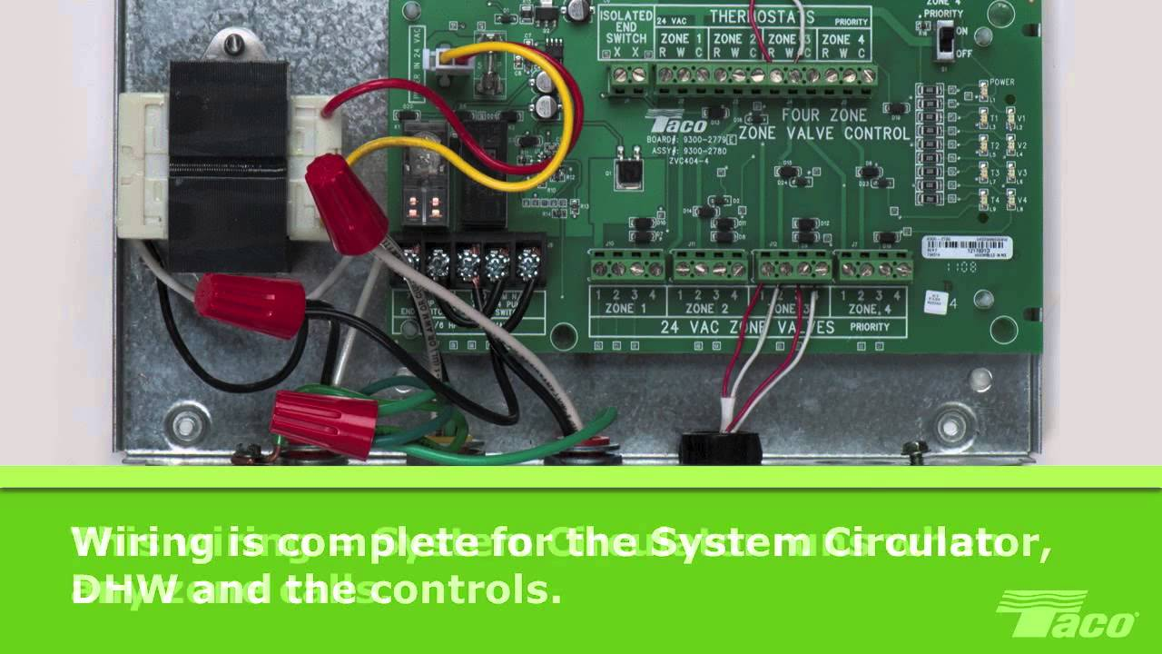 How To Wire a System Circulator to a Taco Zone Valve