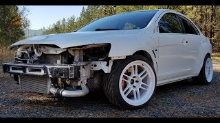 "2008 Mitsubishi Evo X ""Project for my self from copart"""